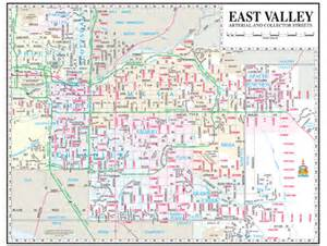 east valley map