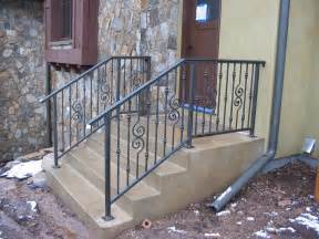 Exterior Handrail Kits For Stairs by Outdoor Stair Railing Newsonair Org