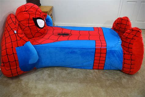 spider man bed by incredibeds hiconsumption