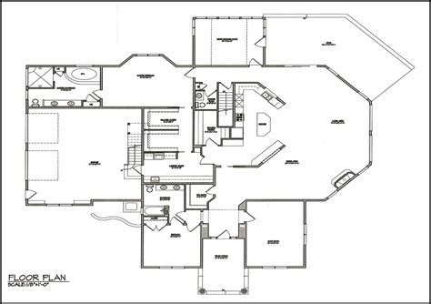 draw floor plan to scale floor plan with scale home design