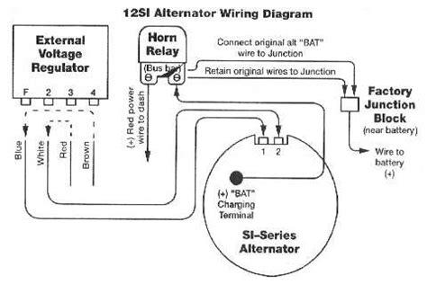 alternator wiring diagrams and information brianesser