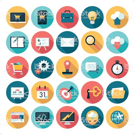 Business Icons Stock Vector 521312358 Istock Business Icons Stock Vector More Images Of Arranging Istock