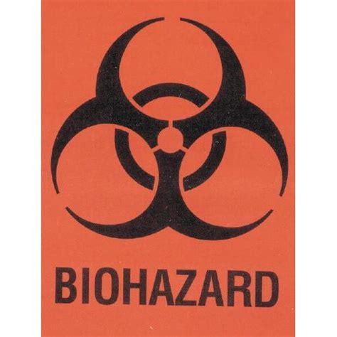 printable biohazard label biohazard warning labels
