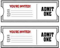 young women in excellence on pinterest ticket invitation