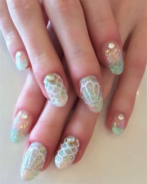 25 best ideas about opal nails on shiny nails