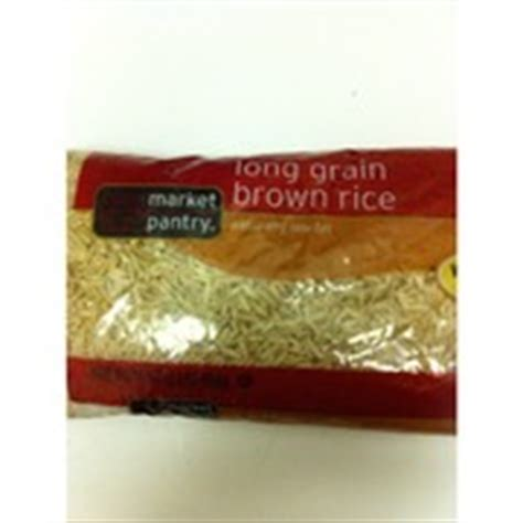 Market Pantry Rice by Market Pantry Grain Brown Rice Calories Nutrition