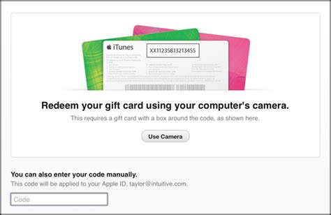 How To Use Apple Gift Card - how to use apple gift card for itures account photo 1