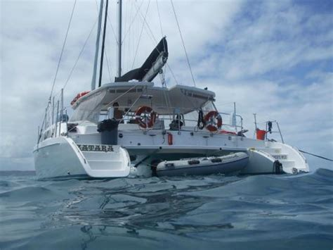 zatara sailing catamaran pr picture of east island - Sailing Zatara Boat For Sale