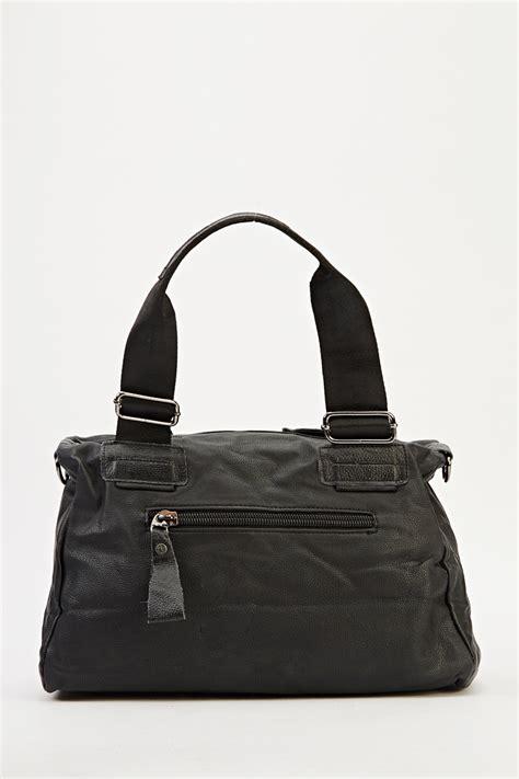 studded spike black bag just 163 5