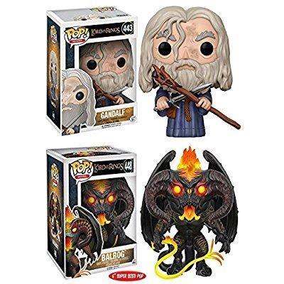 Funko Pop Gandalf The Lord Of The Rings funko pop the lord of the rings gandalf balrog 6 stylized vinyl figure new walmart