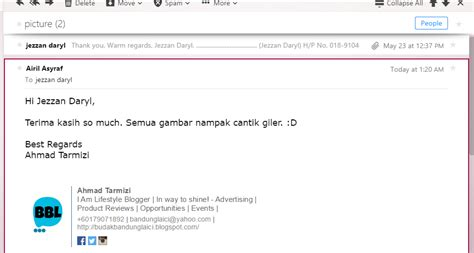 tutorial html signature tutorial buat email signature sendiri budak bandung laici