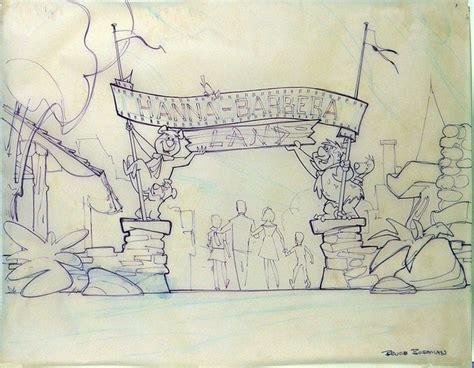 Land Layout Sketch | imagineering disney