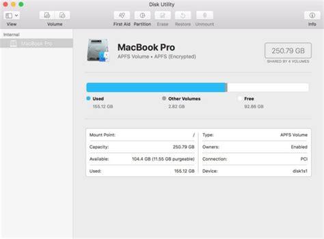 format external hard drive mac os high sierra how to check your mac s free hard drive space macworld