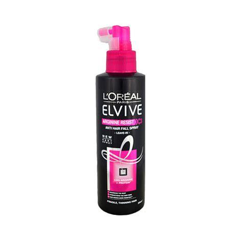 Shoo Loreal Anti Hair Fall l oreal elvive arginine resist x3 anti hair fall spray