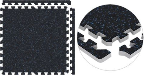 Home Gym Flooring   Interlocking Rubber Floor Tiles