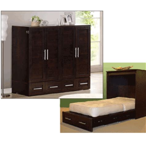bed in a cabinet capuchinno studio cabinet bed 10 20 fcfs rollaway beds