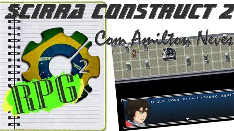 tutorial construct 2 rpg como usar a neves rpg engine para construct 2 youtube