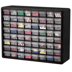 64 drawer plastic bin small parts hardware crafts storage