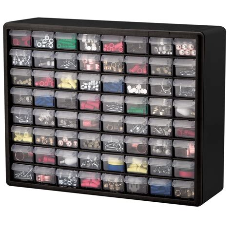 Small Parts Storage Cabinets W Plastic Drawers by 64 Drawer Plastic Bin Small Parts Hardware Crafts Storage