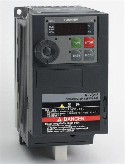 Toshiba Vf S15 Inverter 7 5hp toshiba vf s15