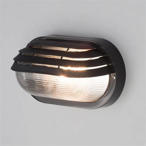 Bulkhead Lights Outdoor Anders Oval Outdoor Bulkhead Eyelid Wall Light Black From Litecraft