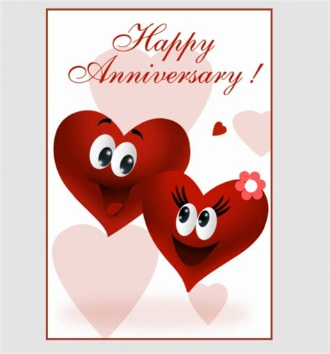 Printable Anniversary Cards From