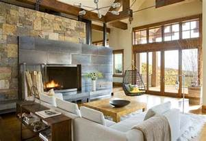 Modern Rustic Home Interior Design 30 Rustic Living Room Ideas For A Cozy Organic Home