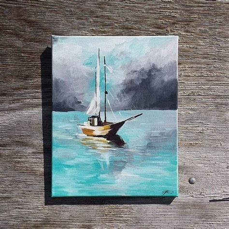 this nautical inspired painting can be placed in bathrooms