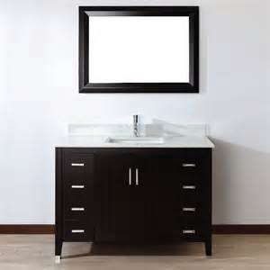 48 sink bathroom vanity jackie48 traditional 48 quot single sink bathroom vanity