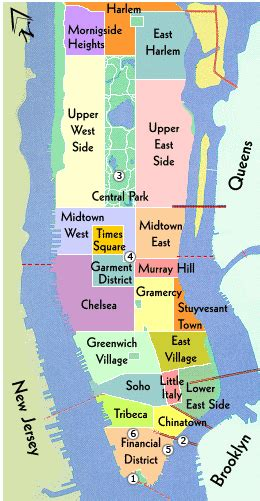 map of manhattan ny new york city map nyc tourist