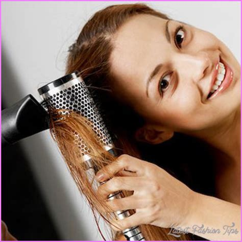 Hair Dryer To Straighten Curly Hair drying your or wavy hair latestfashiontips