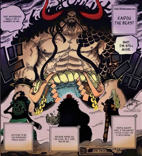 Kaido The Beast Jaket Anime One the almighty beast kaido appears kaido from chapter 795 one