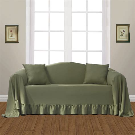 kmart couch covers united curtain company westwood duck cloth sofa cover