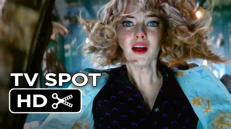 emma stone video game the amazing spider man 2 tv spot everything changes