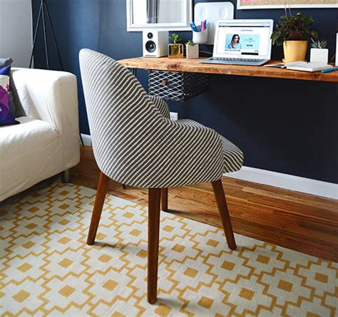 west elm desk chair sg at home my office makeover style girlfriend