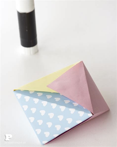 Origami Toilet Bowl - easy origami bowls pysselbolaget easy crafts