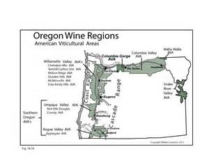 map of wineries in oregon us oregon wine map swe