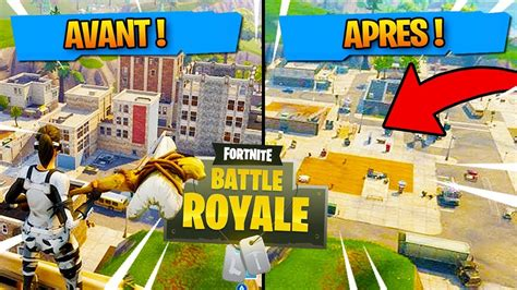 fortnite without building on rase la ville de tilted towers fortnite battle
