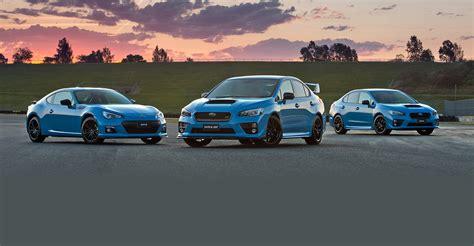 Subaru Brz Wrx by Subaru Wrx Wrx Sti And Brz Hyper Blue Specials On Sale In