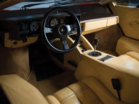 classic lamborghini interior 1985 lamborghini countach lp5000 s quattrovalvole lp5000