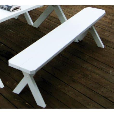 cross leg bench pine 4 cross leg bench a l
