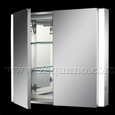 buy bathroom mirror cabinet modern luminous bathroom mirror cabinet with shaver socket