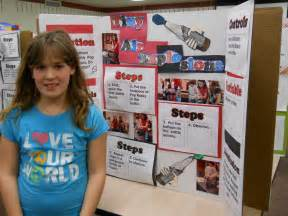 Science fair projects created by 4th graders may 2011