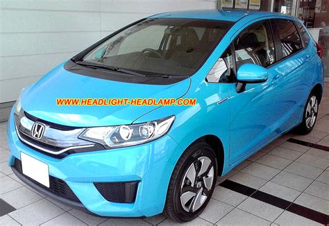 Fullset Honda Jazz Gk5 honda fit jazz halogen standard headl upgrade replace