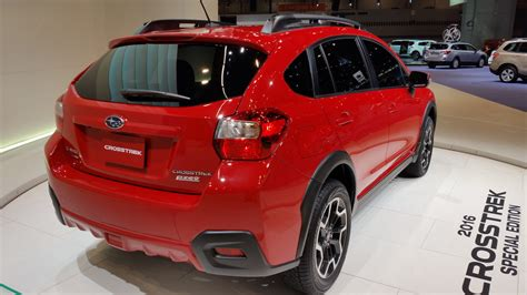 subaru crosstrek 2016 red 2016 subaru crosstrek special edition picture 665396
