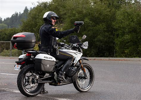copp motors zero will now sell you an all electric cop motorcycle