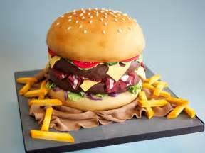 burger kuchen burger cake