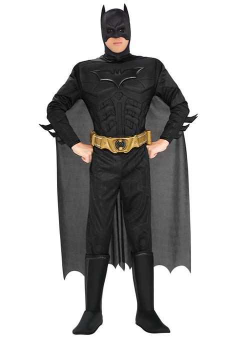 deluxe dark knight batman costume