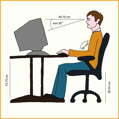 bureau en m騁al ergonomie am arbeitsplatz effizienz und bequemlichkeit