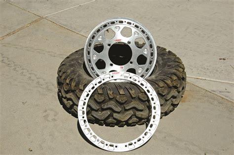 how to make bead lock rims how to mount tires on beadlock rims dirt wheels magazine